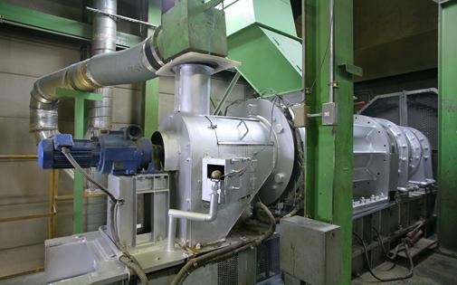 減容固化機(RPF製造施設)
