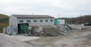 コンクリートガラ破砕再生施設
